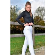 Cavaleros Carino Compression Tights m. For - Hvid