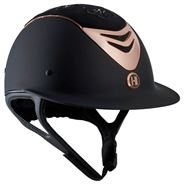 OneK Avance Matt Embroidery Ridehjelm Limited Edition - Sort / Rosegold