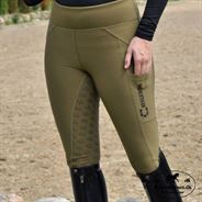 Cavaleros Carino Compression Tights m. For - Khaki