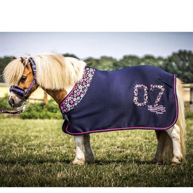 Pony Cooler Navy Flower