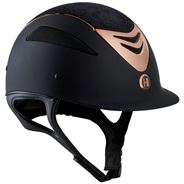 OneK Defender Pro Matt Lace Ridehjelm Limited Edition - Sort / Rosegold