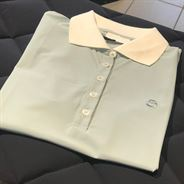 Cavalleria Toscana Perforated Jersey Poloshirt - Mint