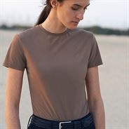 CT Perforated T-shirt Camel